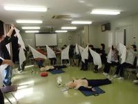 救急救命講習会の様子3