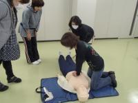 救急救命講習会の様子4