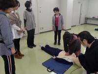救急救命講習会の様子5